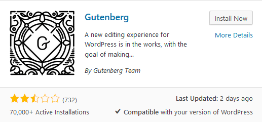 Gutenberg Editor: The perils of ignoring users