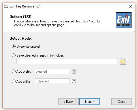 Exif Tag Remover - Screen 4